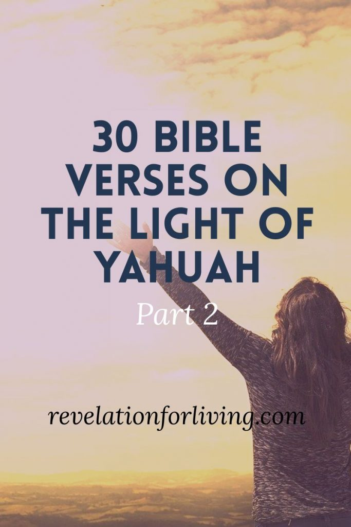 the light of Yahuah